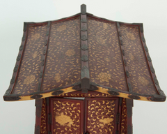 Japanese Edo-Meiji Period Lacquered Palanquin