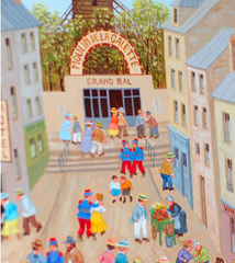 """Moulin de la Galette"" Oil by Axatard"