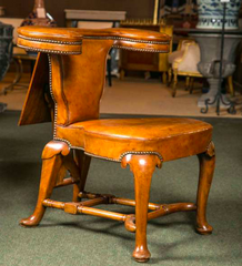 19th Century English Reading Chair