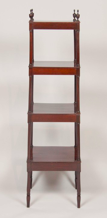 English Regency Mahogany Etagere