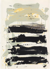 "A Color Lithograph by Joan Mitchell Titled ""Champs"""