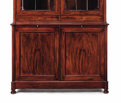 A Large Pair of Mahogany Louis Philippe Bookcases