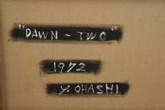 "A painting by Yutaka Ohashi ""Dawn-Two"""
