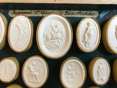 19th Century Italian Grand Tour Intaglios in Original Boxes