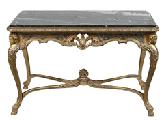 Silver Gilt Center or Console Table