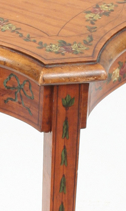 Painted Satinwood Occasional Table