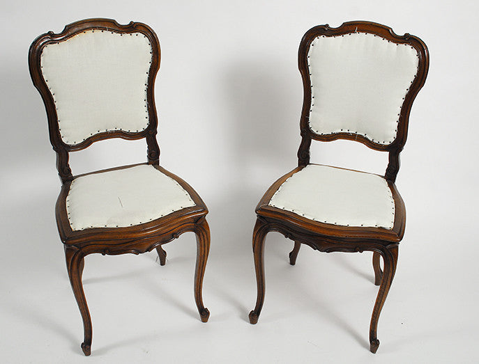 Pair of Dining Side Chairs