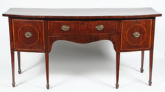 George III Bow Front Sideboard
