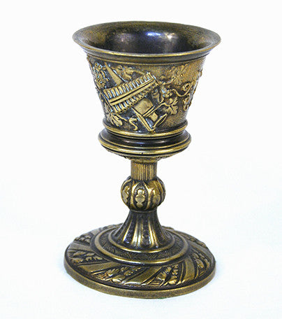 Small Brass Wine Cup