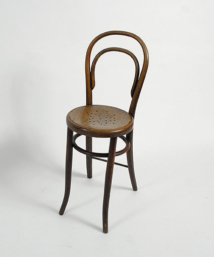 An Austrian Bentwood Chair