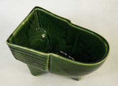Green Glazed Container