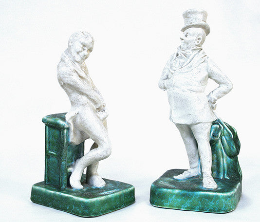 Pair of Dickens Characters
