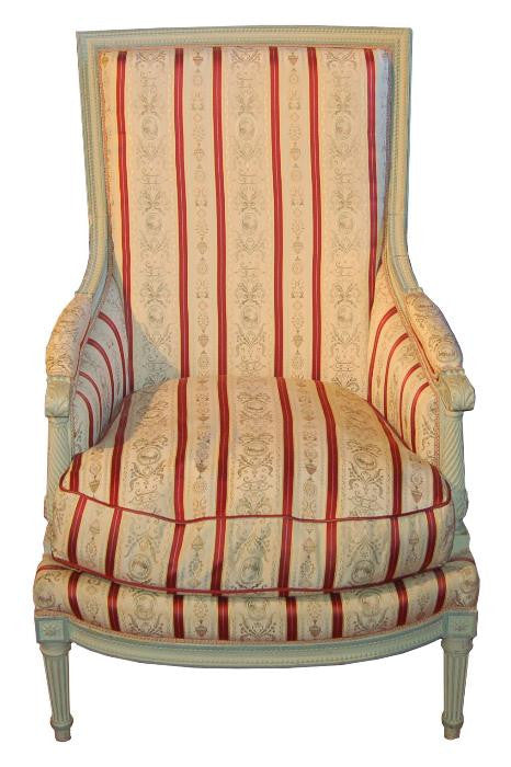 Painted French Bergere