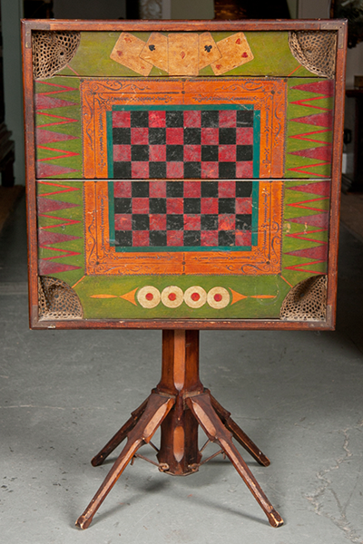 Folk Art Games Table