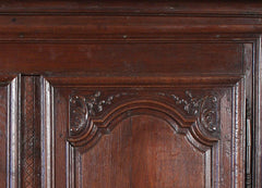 Two Door Oak Armoire