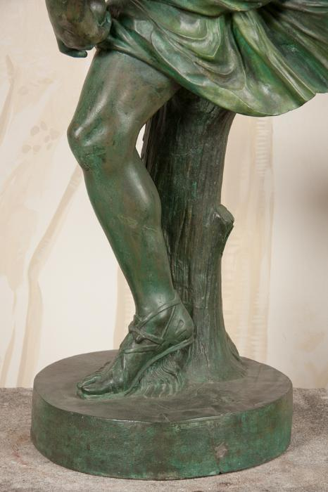 Large Bronze Statue Of Hippomene