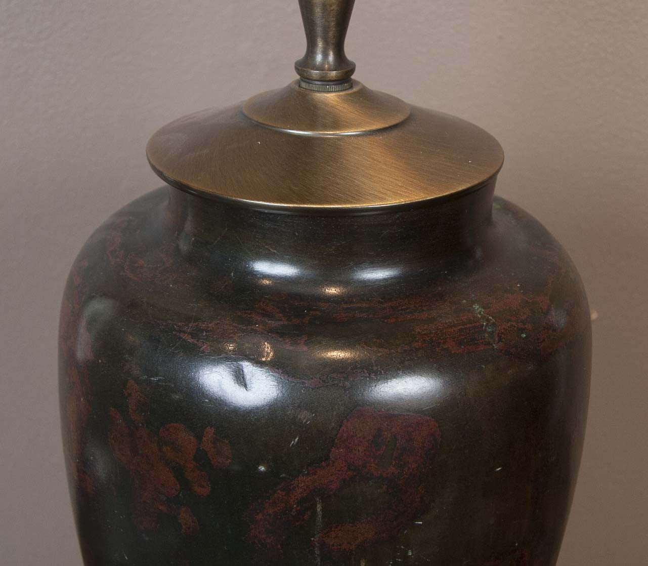 African Cameroon Highlands Jar now a Lamp