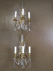 Pair of 20th Century Sconces