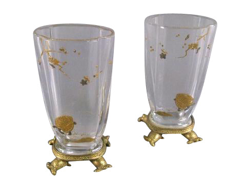 Pair of Baccarat Vases