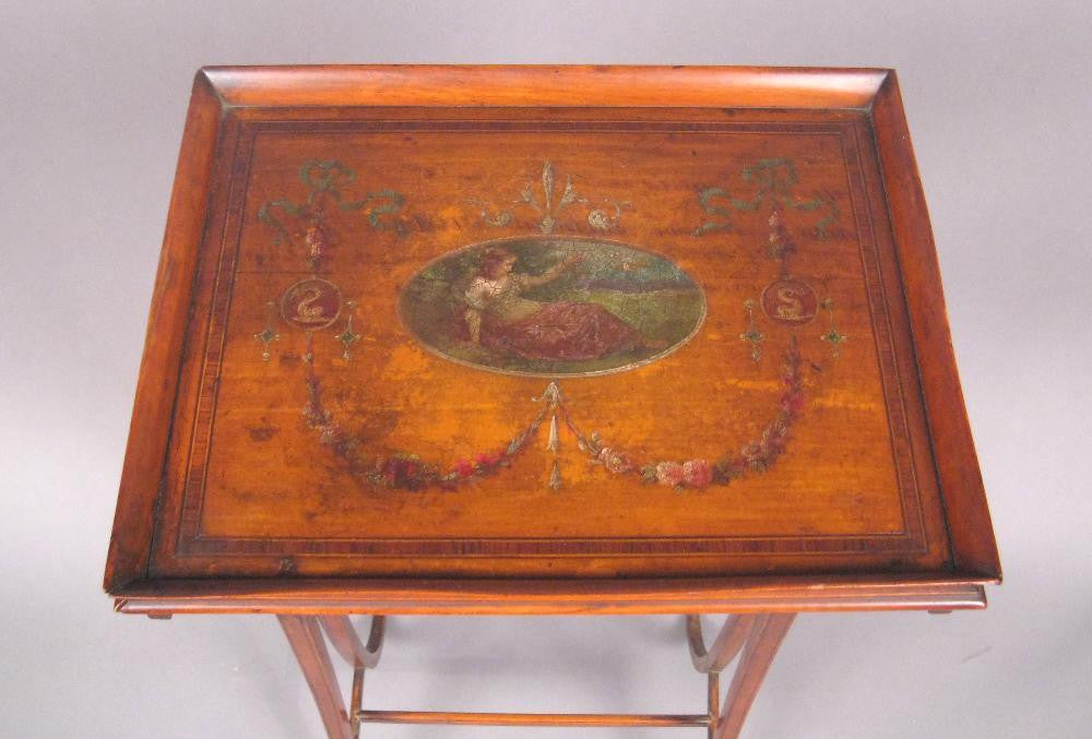Edwardian Painted Stand or Small Table