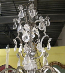 Elegant Rock Crystal Chandelier