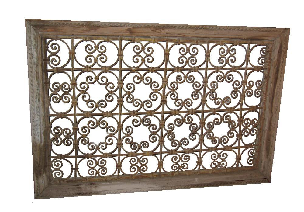French Wrought Iron Lattice