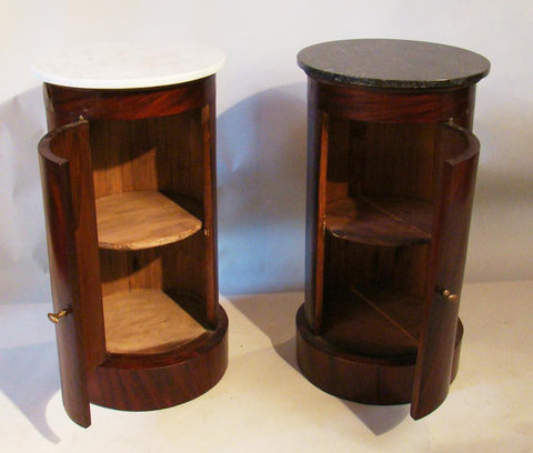 Italian End Tables or Bedside Tables