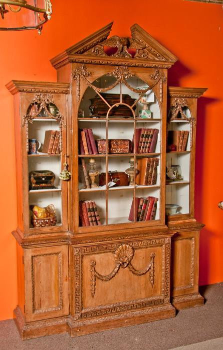 Georgian Breakfront Bookcase