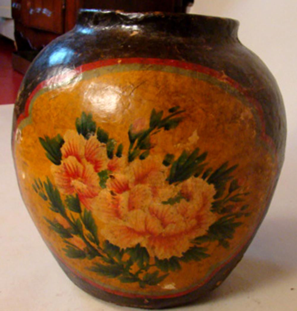 Antiques chinese papier mch vase avery dash collections antiques chinese papier mch vase reviewsmspy
