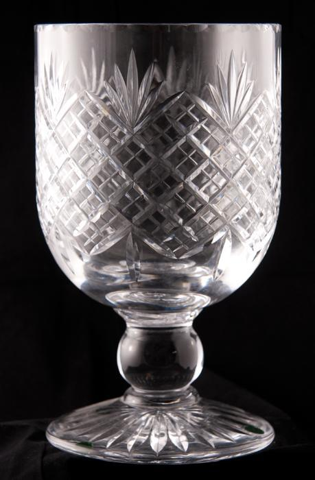 English Cut Glass Vase Avery Dash Collections