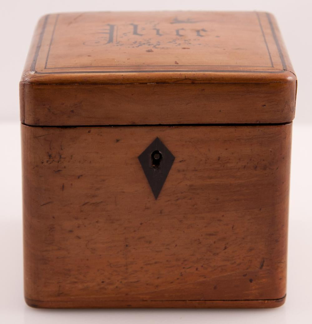 Pearwood Tea Caddy