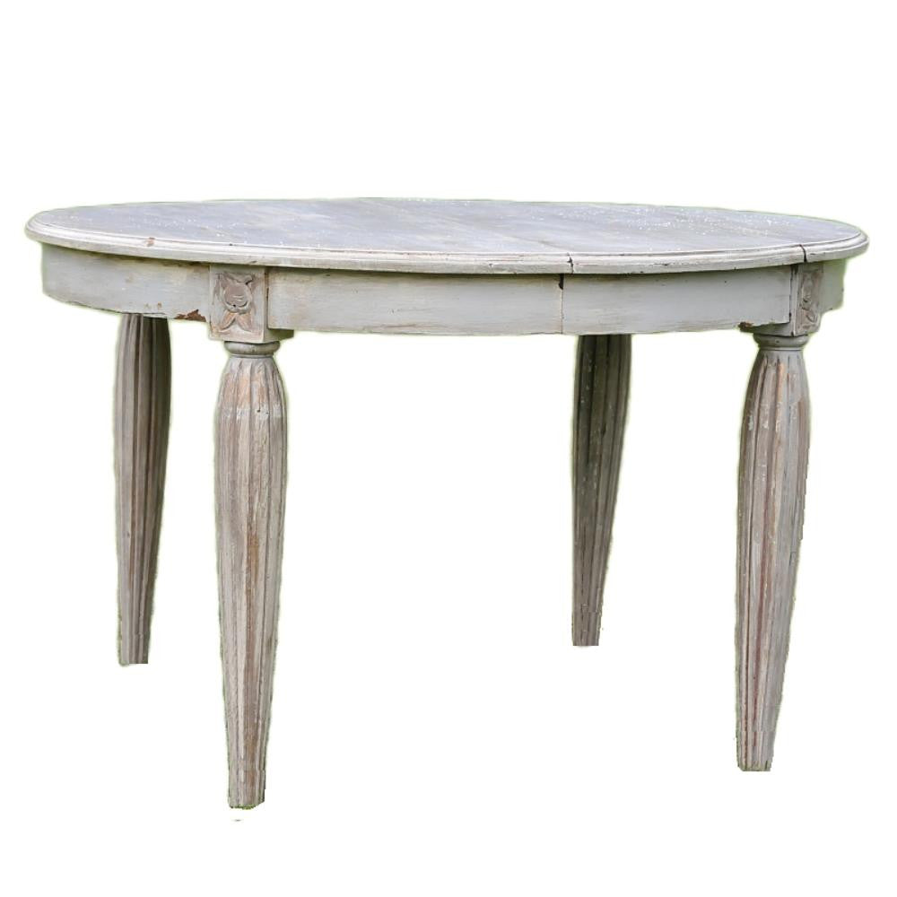 French Painted Table