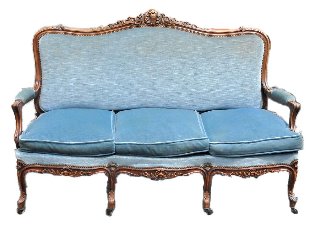 Upholstered French Sofa