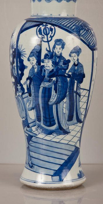 Blue and White Chinese Vase