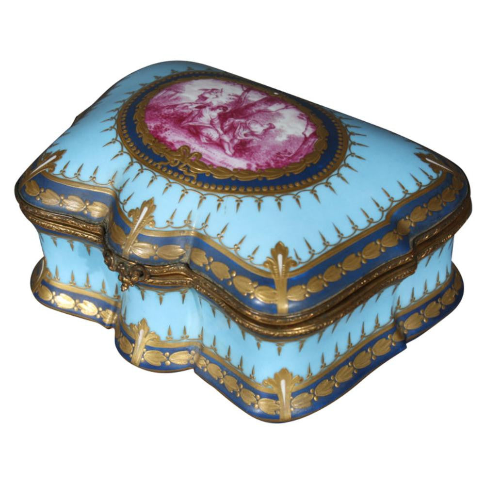 19th Century Sevres Box