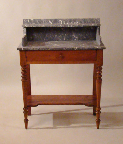 French Marble Topped Vanity