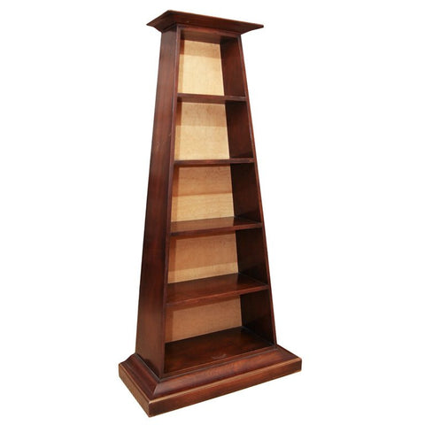 Regency Mahogany Etagere Display Shelf