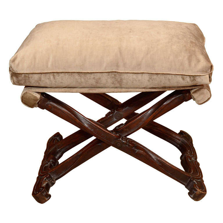 Louis XV Walnut Stool