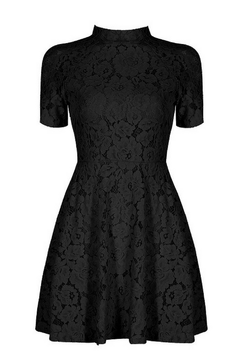 Camila Black  Lace Dress
