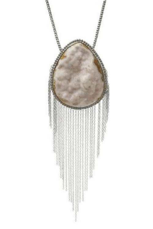 Mikeala Druzzy Stone Necklace - Preciosa Boutique