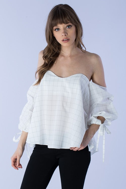 Nicolette Off the Shoulder Top - Preciosa Boutique