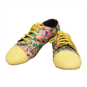 Floral delight sneakers
