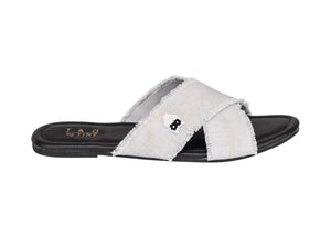 The Tao cross strap sliders