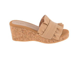 The Dual Ruffle wedges
