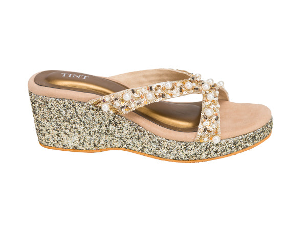 Sequins splendor wedges