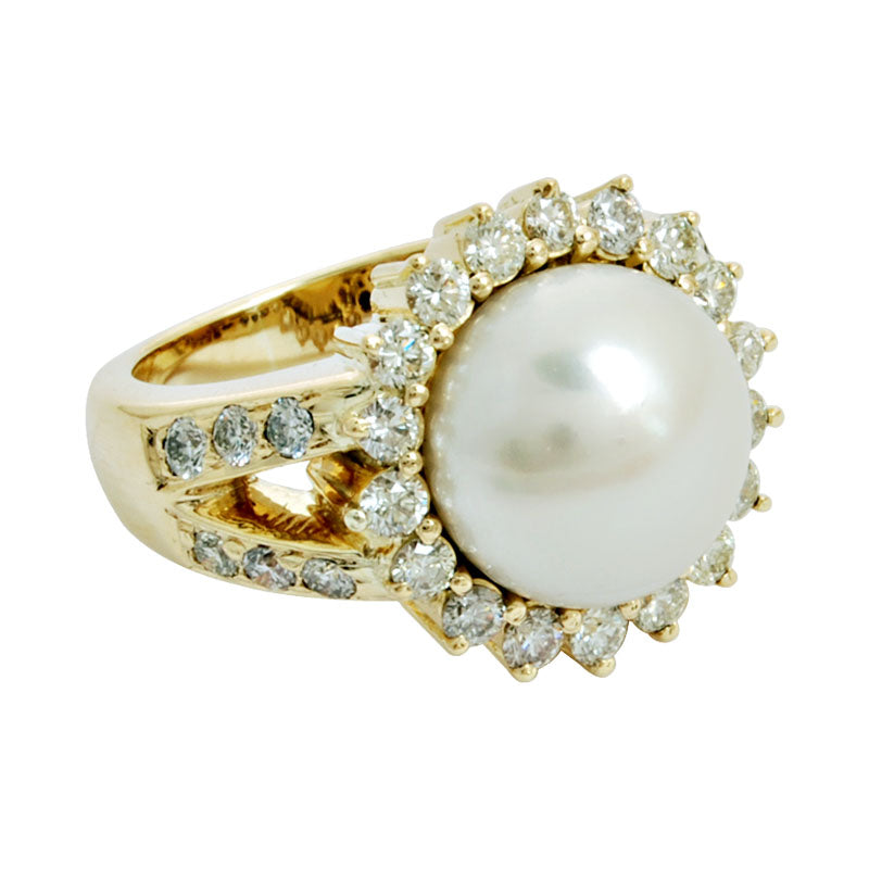 Ring-Pearl and Diamond