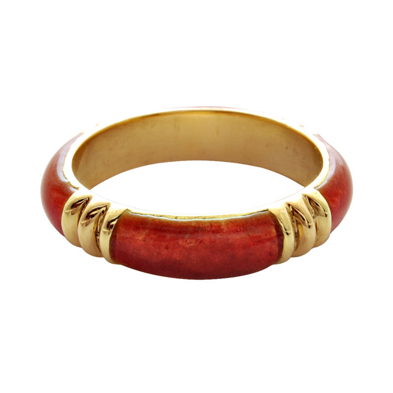 Ring-Plain Gold (Enamel)