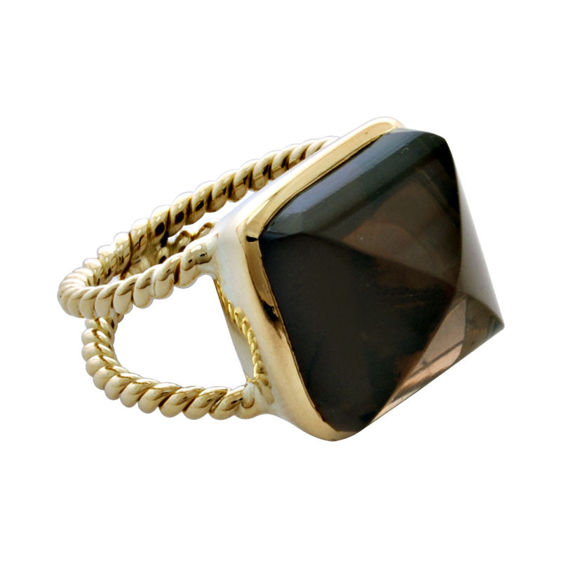 Ring-Smokey Quartz
