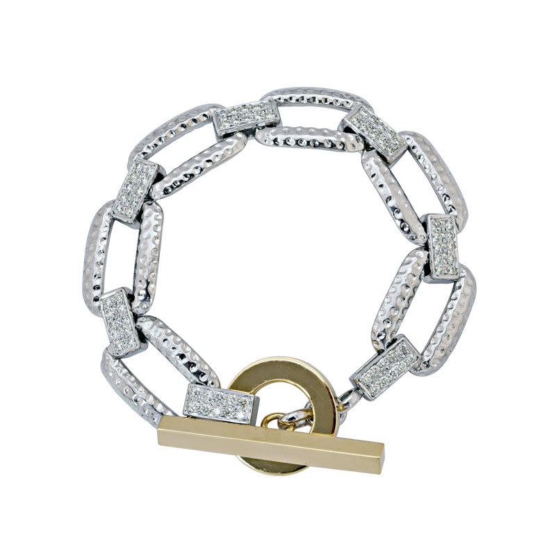 Toggle Bracelet- Diamond