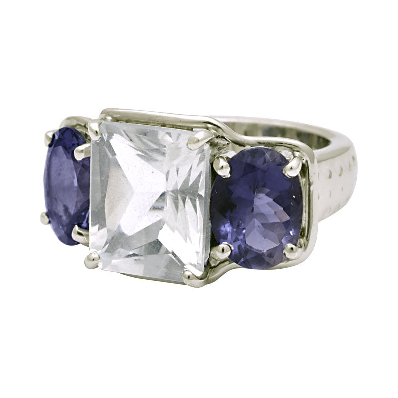 Ring-Crystal and Iolite